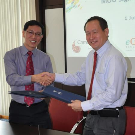 NUS-ISS signs research, training agreement with CrimsonLogic